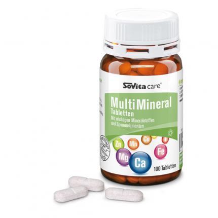 SOVITA care MULTI VITAMIN+MINERAL-Tabletten