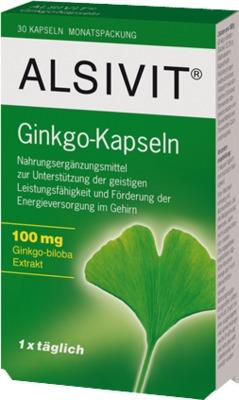 GINKGO 100 mg Alsivit Kapseln