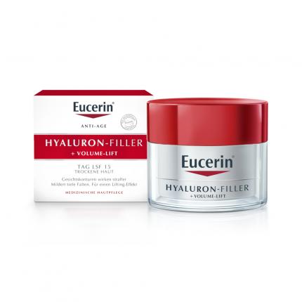 Eucerin Hyaluron-Filler + Volume-Lift Tagespflege für trockene Haut Creme
