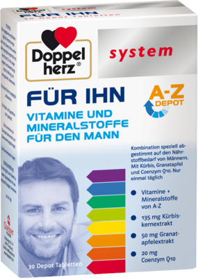 DOPPELHERZ FÜR IHN system Tabletten