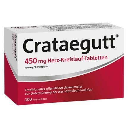 Crataegutt 450 mg Herz-Kreislauf-Tabletten