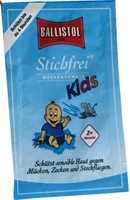 STICHFREI Kids Creme Sachets
