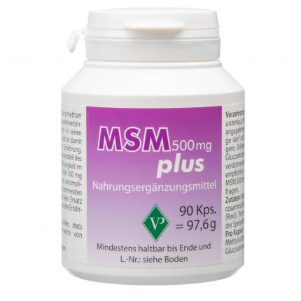MSM 500 mg plus Kapseln