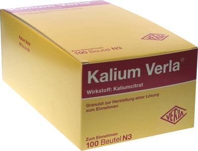 Kalium Verla Granulat