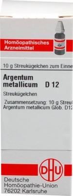ARGENTUM METALLICUM D 12 Globuli