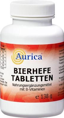 BIERHEFE TABLETTEN Aurica