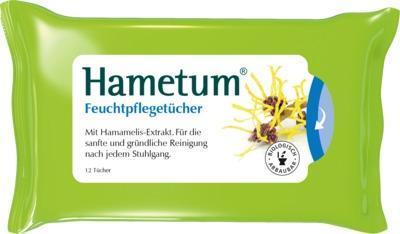 Hametum Feuchtpflegetücher mit Hamamelis