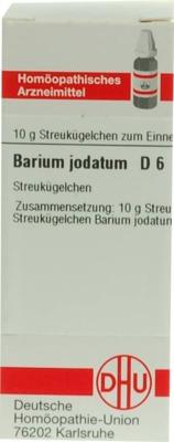 BARIUM JODATUM D 6 Globuli