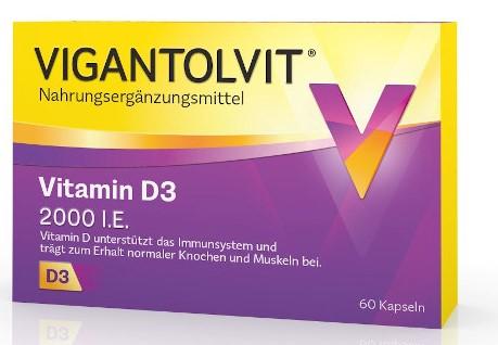 VIGANTOLVIT 2.000 I.E. Vitamin D3 Kapseln