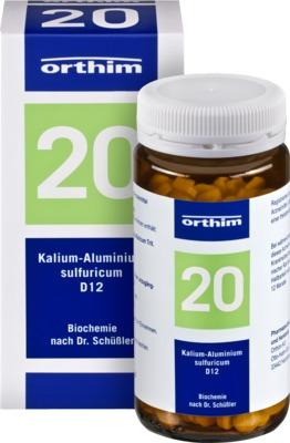 Biochemie Orthim 20 Kalium-Aluminium sulfuricum D12 Tabletten