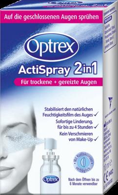 Optrex ActiSpray 2 in 1 für trockene und gereizte Augen