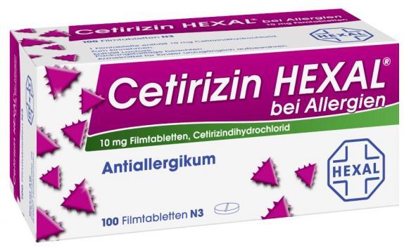 Cetirizin HEXAL