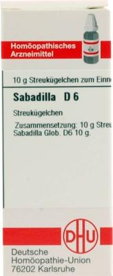 SABADILLA D 6 Globuli