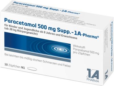 Paracetamol 500mg-1A Pharma