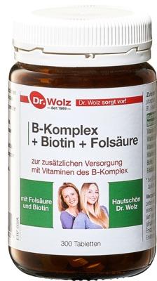 B KOMPLEX+Biotin+Folsäure Tabletten