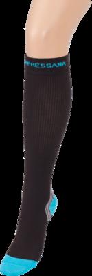 COMPRESSANA Sport Kniestrumpf Coolmax Gr.2 schwarz