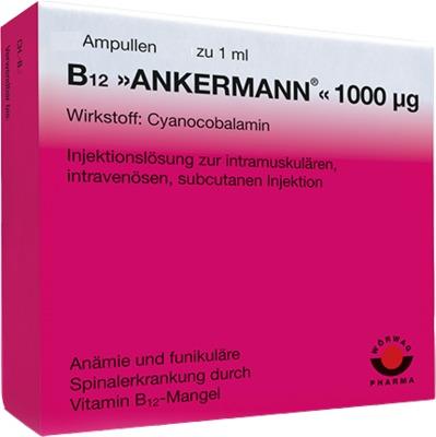 B12 ANKERMANN 1.000 µg Ampullen