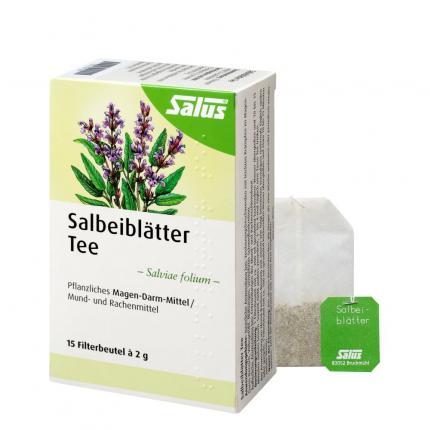 Salbeiblätter Tee Salus