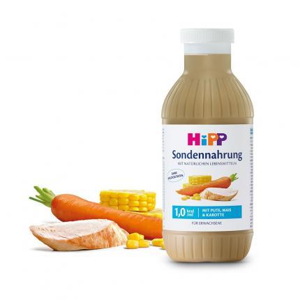 Hipp Sondennahrung Pute Mais & Karotte Kunstst.fl.