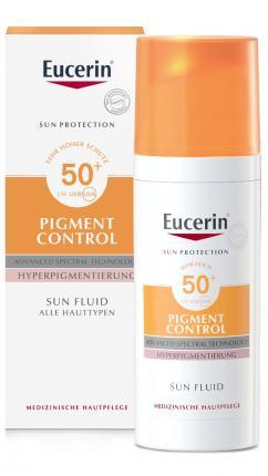Eucerin Sun Fluid Pigment Control LSF 50+