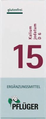 BIOCHEMIE Pflüger 15 Kalium jodatum D 6 Tabletten