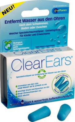 CLEAREARS Ohrstöpsel zur Wasserentfernung