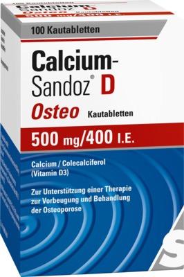 Calcium-Sandoz D Osteo 500mg/400 I.E.