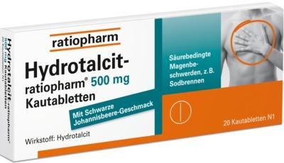 Hydrotalcit-ratiopharm 500mg