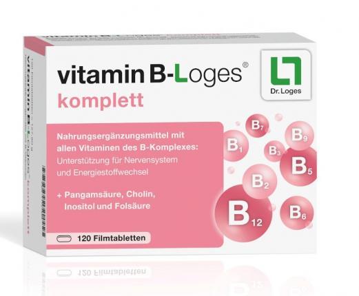 Vitamin B-Loges komplett