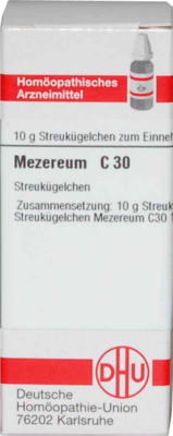 MEZEREUM C 30 Globuli