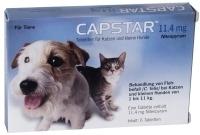 CAPSTAR 11,4 mg Tabletten für Katzen für kleine Hunde
