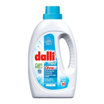 Allergiker-Waschmittel Dalli med Flüssig