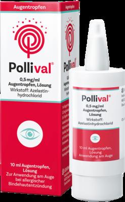 POLLIVAL 0,5 mg/ml Augentropfen Lösung