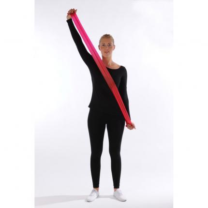 RFM Gymnastikband Latex mittel 2,5 m rot