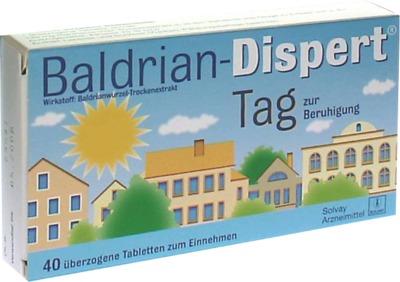 Baldrian-Dispert Tag zur Beruhigung