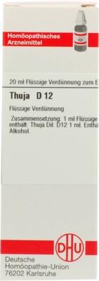 THUJA D 12 Dilution