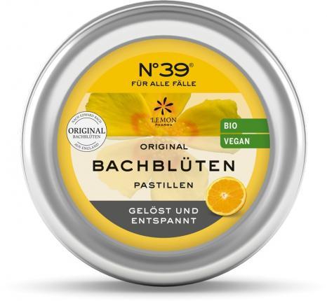 BACHBLÜTEN No.39 FÜR ALLE FÄLLE Pastillen BIO