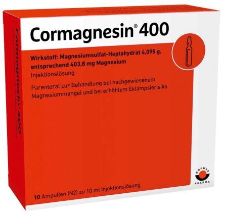 CORMAGNESIN 400 Ampullen