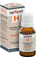 APOPET Schüßler-Salze-Kombination H ad us.vet.Gl.