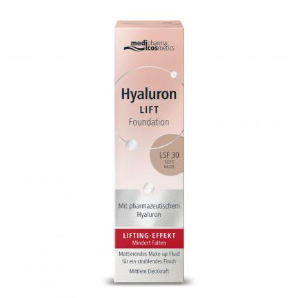 Hyaluron LIFT Foundation SOFT LSF 30 NUDE