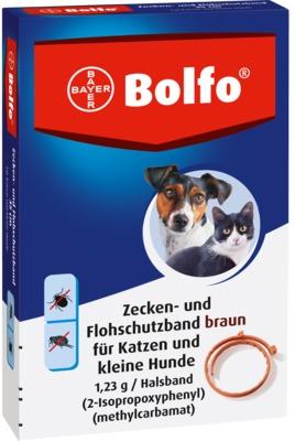 Bolfo Zecken- und Flohschutzband braun