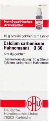 CALCIUM CARBONICUM Hahnemanni D 30 Globuli
