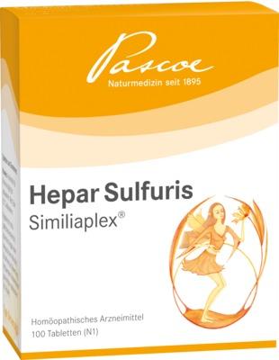 HEPAR SULFURIS SIMILIAPLEX Tabletten