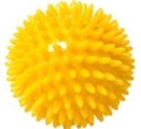 IGELBALL mit 8 cm Durchmesser in Gelb