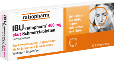 IBU-ratiopharm 400 akut Schmerztabletten