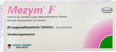 Mezym F Filmtabletten