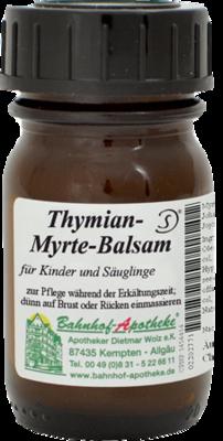 Thymian-Myrte-Balsam für Kinder und Säuglinge