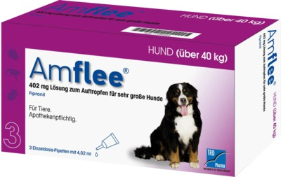 AMFLEE 402 mg Spot-on Lösung für sehr große Hunde 40-60kg