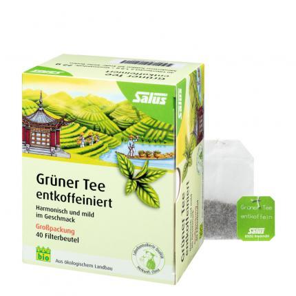 Salus Grüner Tee entkoffeiniert