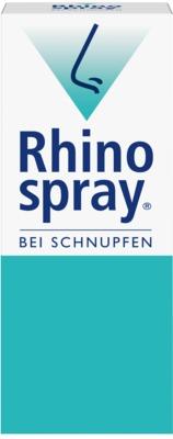 Rhinospray bei Schnupfen